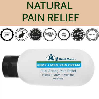 natural cbd pain relief cream