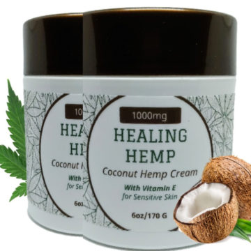 1000mg CBD coconut pain cream
