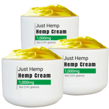just hemp cbd cream 3 pack