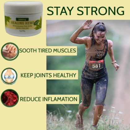 Stay strong with CBD topical salve