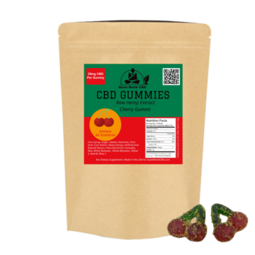 Cherry CBD Hemp Gummies