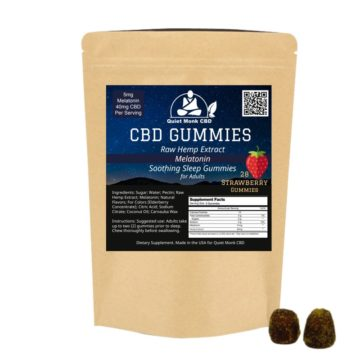 melatonin sleep time cbd gummy